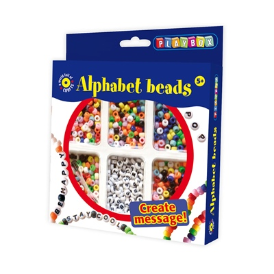 Playbox Alfabetspärlor, 2471168