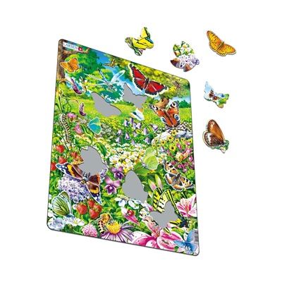 Larsen Pussel 42 Bitar Fjärilar, FH28
