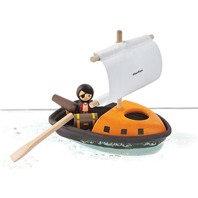 PlanToys Pirate Boat, 5707