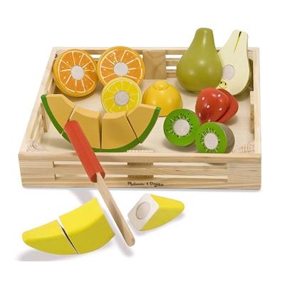 Melissa & Doug Wooden Cutting Fruit, 14021