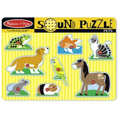 Melissa & Doug Pet Sound Puzzle, 10730