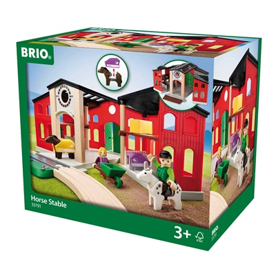 BRIO Häststall, 33791
