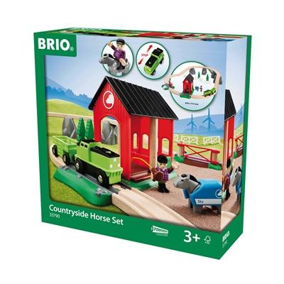 BRIO Hästgårdsset, 33790