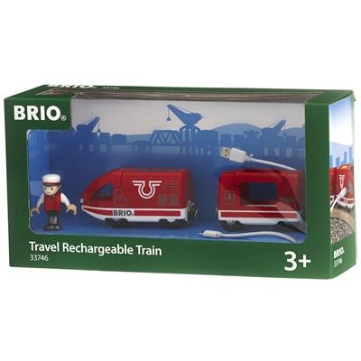 BRIO Uppladdningsbart Tåg, 33746