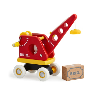 BRIO Lyftkran med Last, 30428