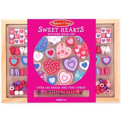 Melissa & Doug Sweet Hearts Bead Set, 14175
