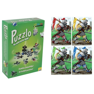 Peliko Puzzlo The Speed-Puzzle Game 20 Bitar Riddare, 408614682