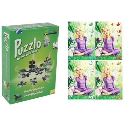 Peliko Puzzlo The Speed-Puzzle Game 20 Bitar Älva, 408614681