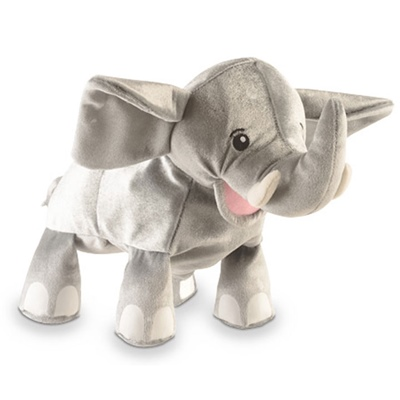 Fiesta Crafts Elefant Handdocka, T-2759