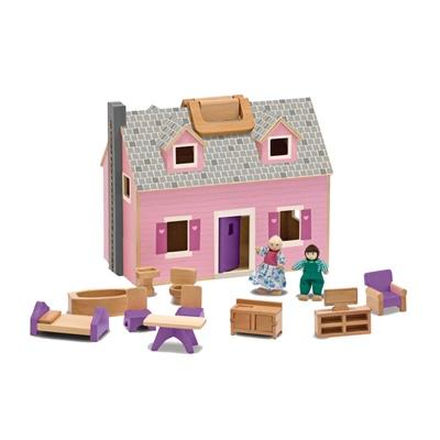 Melissa & Doug Fold & Go Dollhouse, 13701MD