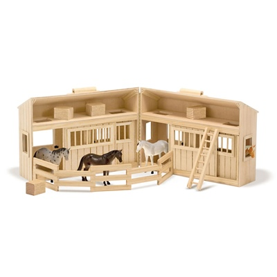 Melissa & Doug Fold & Go Stable, 13704MD