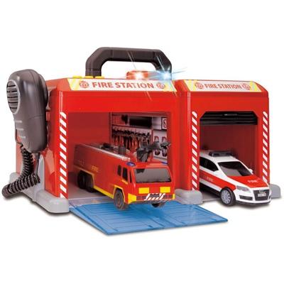 Dickie Toys SOS Station Brandstation, 203716004033B