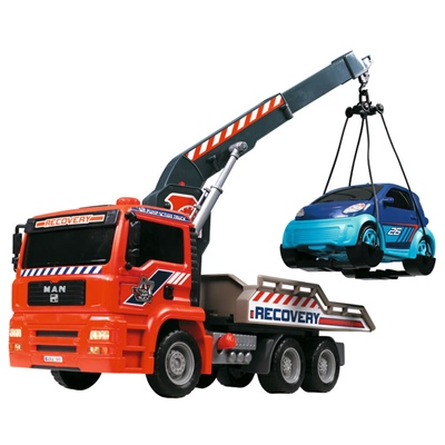 Dickie Toys Kranbil med Luftpump, 203806000
