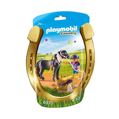 Playmobil Skötare med Stjärnponny, 6970