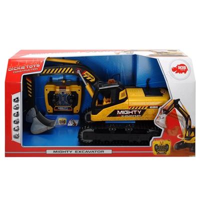 Dickie Toys Sladdstyrd Mighty Excavator, 203729000