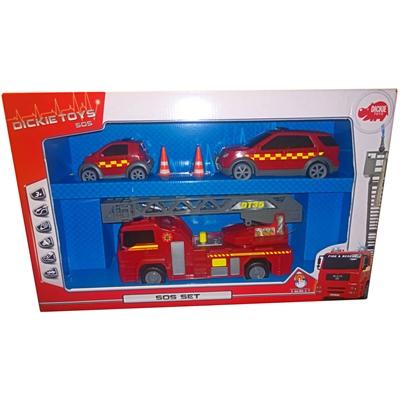 Dickie Toys Sos-Set Brand, 2037190020331
