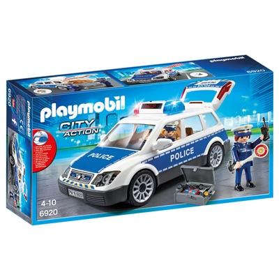 Playmobil Polisbil med Ljud & Ljus, 6920