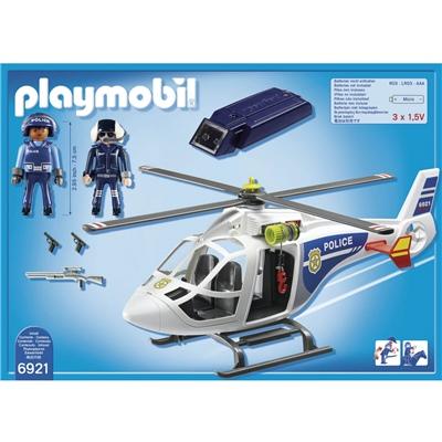 Playmobil Polishelikopter med LED-ljus, 6921