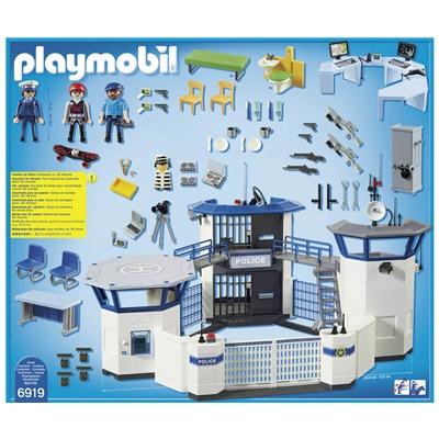 Playmobil Polisstation med Fängelse, 6919