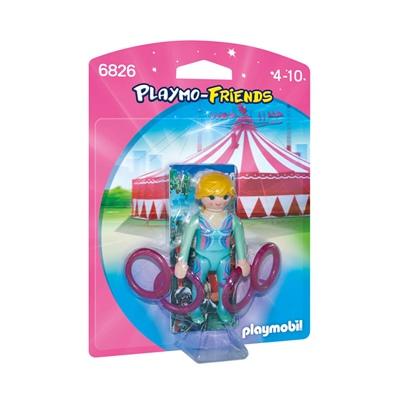 Playmobil Gymnast med Ringar, 6826