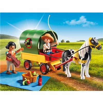 Playmobil Picknick med Ponnyvagn, 6948