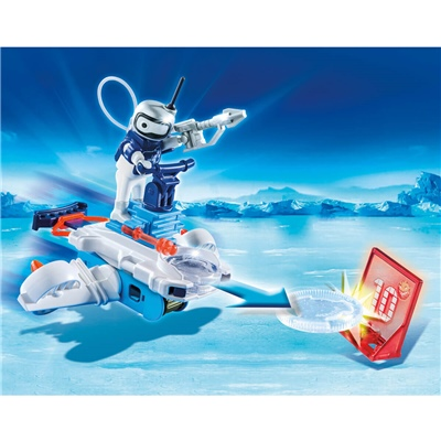Playmobil Icebot med Disc-shooter, 6833
