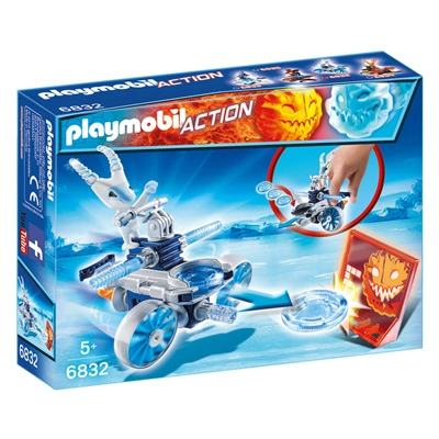 Playmobil Frosty med Disc-shooter, 6832