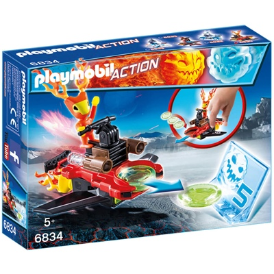 Playmobil Sparky med Disc-shooter, 6834
