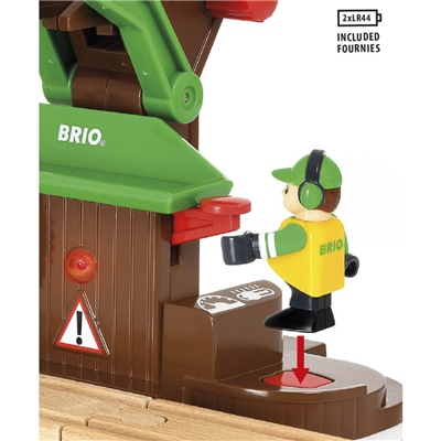 BRIO Sågverk Lekset, 33774