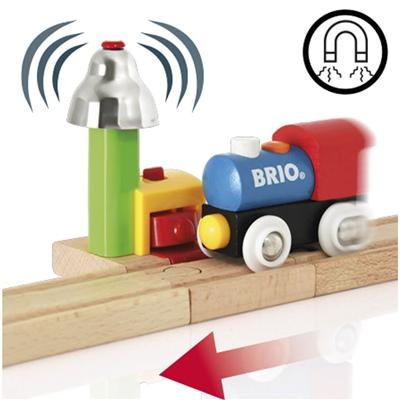 BRIO Min Första Järnväg - Magnetstyrd Ljudsignal, 33707