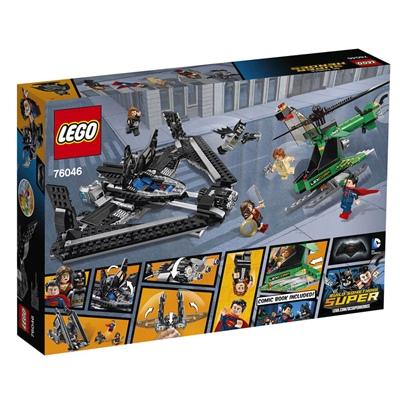 LEGO DC Comics Super Heroes Rättvisans Hjältar Höghöjdsstrid, 76046