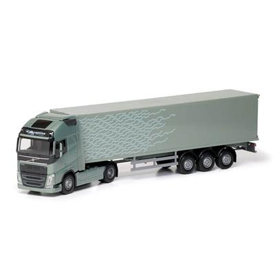 Emek Volvo FH/750 Semi Box Grön 1:25, 81136