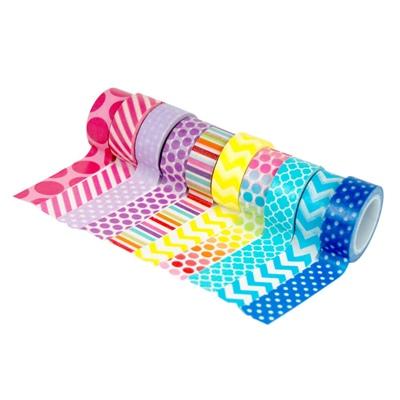 Sense Washi Tejp 10-pack Pastell, 28056