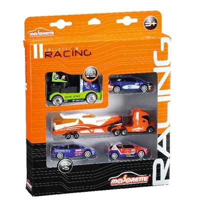 Majorette Racing Collection 5-pack Bilar, 208472