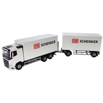 Emek Volvo FH Delivery Truck & Trailer Schenker 1:25, 89731