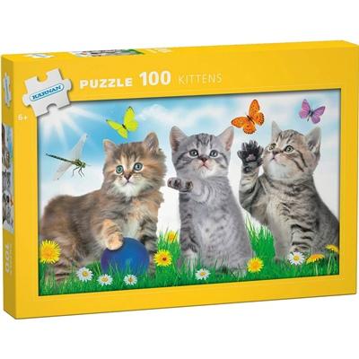 Kärnan Pussel 100 Bitar Kittens, 540004