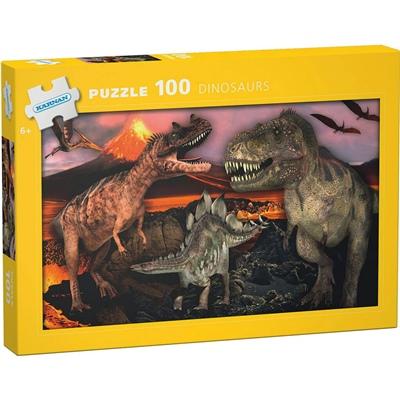 Kärnan Pussel 100 Bitar Dinosaurs, 540005