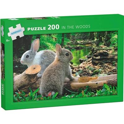 Kärnan Pussel 200 Bitar In the Woods, 550002