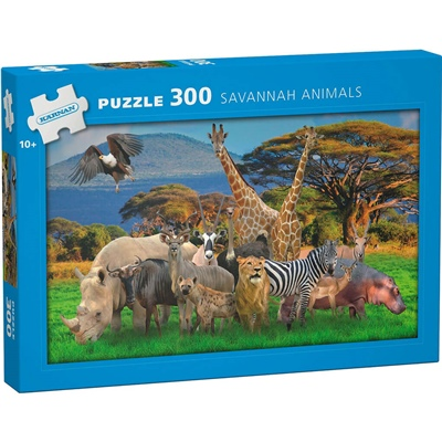 Kärnan Pussel 300 Bitar Savannah Animals, 560005