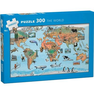 Kärnan Pussel 300 Bitar The World, 560006