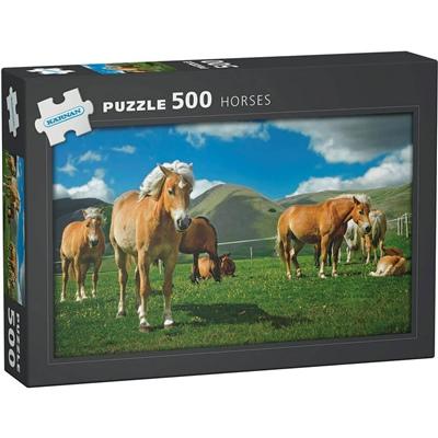 Kärnan Pussel 500 Bitar Horses, 570002