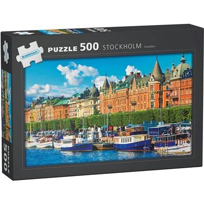 Kärnan Pussel 500 Bitar Stockholm Sweden, 570003