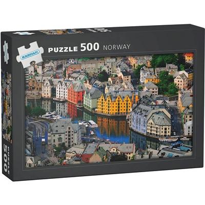 Kärnan Pussel 500 Bitar Norway Ålesund, 570009