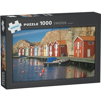 Kärnan Pussel 1000 Bitar Sweden Smögen, 580002