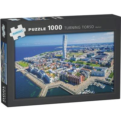 Kärnan Pussel 1000 Bitar Turning Torso Malmö, 580003