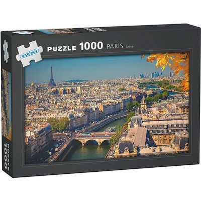 Kärnan Pussel 1000 Bitar Paris Seine, 580006