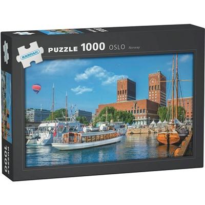 Kärnan Pussel 1000 Bitar Oslo Norway, 580008