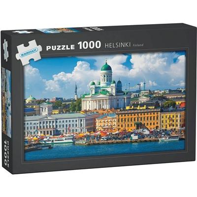 Kärnan Pussel 1000 Bitar Helsinki Finland, 580009