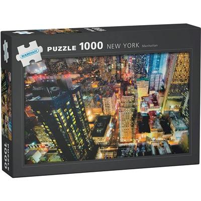 Kärnan Pussel 1000 Bitar New York Manhattan, 580010