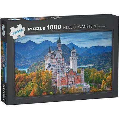 Kärnan Pussel 1000 Bitar Neuschwanstein Germany, 580012